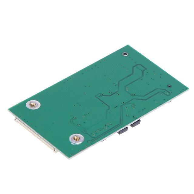 Mini SATA mSATA PCI-E SSD à 40pin 1.8 pouce ZIF CE convertisseur carte pour IPOD IPAD pour Toshiba pour Hitachi ZIF CE HDD disque dur