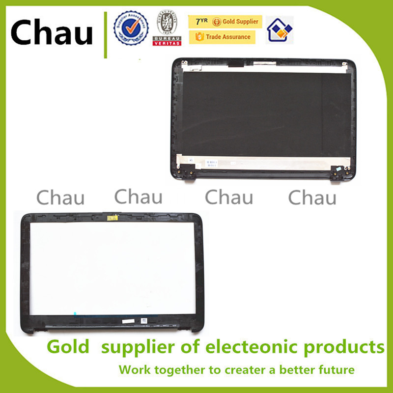 New For HP 15Q-AJ167TX 15A 15-AC 250 255 256 G4 LCD Back Cover Top Case+Lcd Front Bezel Cover 813929-001 900263-001 813925-001