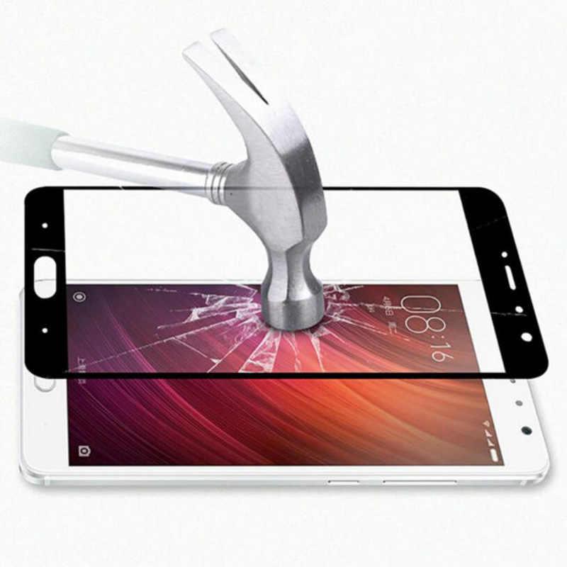 GerTong Tempered Kaca Untuk Xiaomi Redmi Catatan 5A Prime 4X3 GB 32 GB 5 ditambah 5A 4A 4X4 Pro Penuh Penutup Screen Protector Mi A1 Kaca
