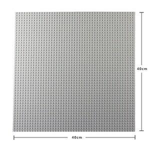 Image 5 - 50*50 punktów małe cegły DIY klocki duże płyta podstawowa 40*40 CM małe klocki klocki dla dla dzieci płyta bazowa