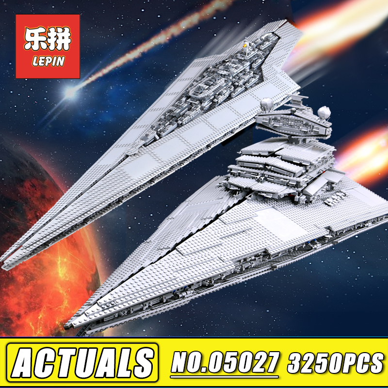 Lepin Star Plan Wars 05027 05028 05033 05132 05079 Legoinglys Death Star Destroyer Millennium Falcon 75192 10221 10030 Kids Toy конструктор lepin star plan истребитель набу 187 дет 05060