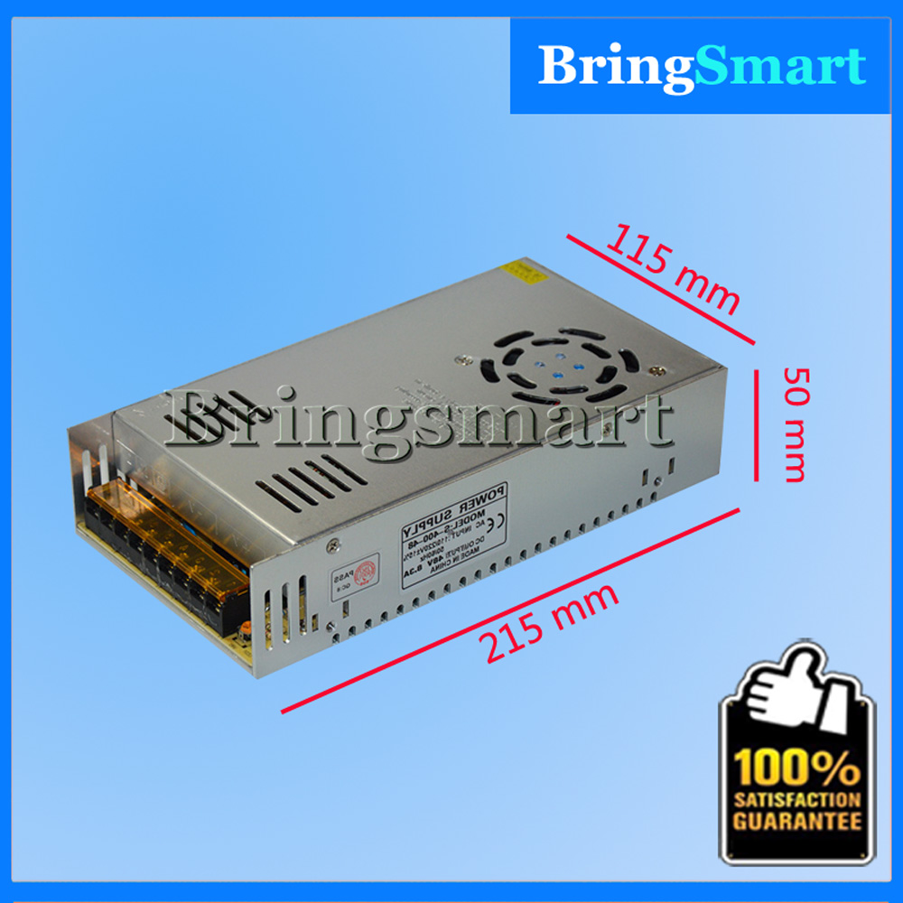 цена на 400W 48V 8.3A Switching Power Supply For LED Strip Light AC to DC LED Driver Power Suply For Bringsmart