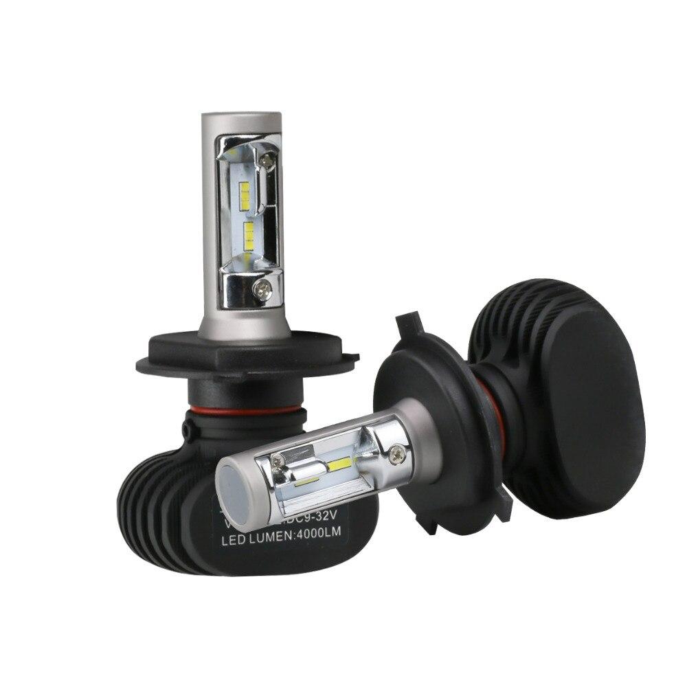S1 Spot 8000LM lampada Del Faro Dell'automobile 50 W LED Del Faro Auto Lampadine H1 H3 H4 9003 H7 H8 H11 9004 9005 9006 9007 9012 6500 K