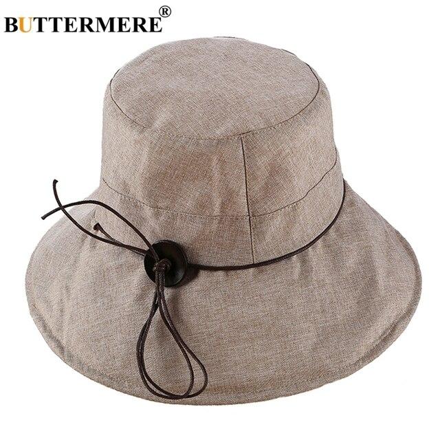 Buttermere Ember Topi Wanita Katun Khaki Memancing Kasual Topi UV  Perlindungan Wanita Elegan Musim Panas Pantai 29f95adcc5