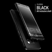 360 Full Protective Cover for Samsung Galaxy S8 S9 S10 Plus Case Protection Mirror For Note 8 9