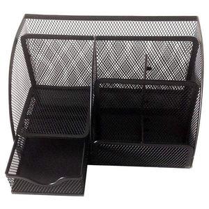 Image 3 - 1 adet ofis kırtasiye çok fonksiyonlu kırtasiye kalemlik ızgara saklama kutusu