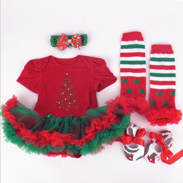 New Year Christmas Ideas Gift For Kids Infant Newborn Girl Clothes
