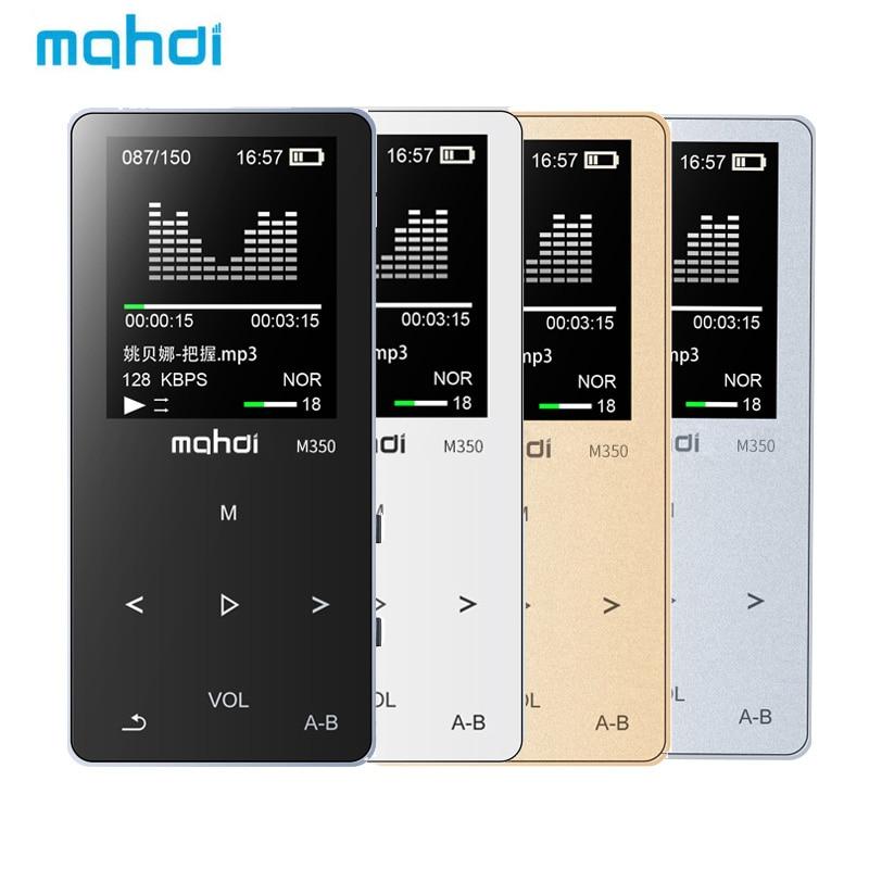 Mahdi M350 Metal Sport MP3 8GB HIFI Music Player 1.8