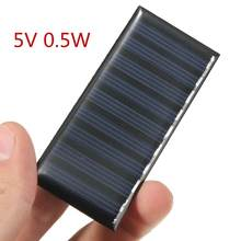 Solar Panel DIY 5V 0,5 W 100mAh Mini Batterie Betriebene Modelle Polykristalline Silicon Epoxy für Lade Handy DC großhandel