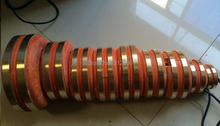 Free shipping Brush alternator ST STC 40kW 50kW collector ring 5# Inside diameter 54mmX106mm copper ring mingdong