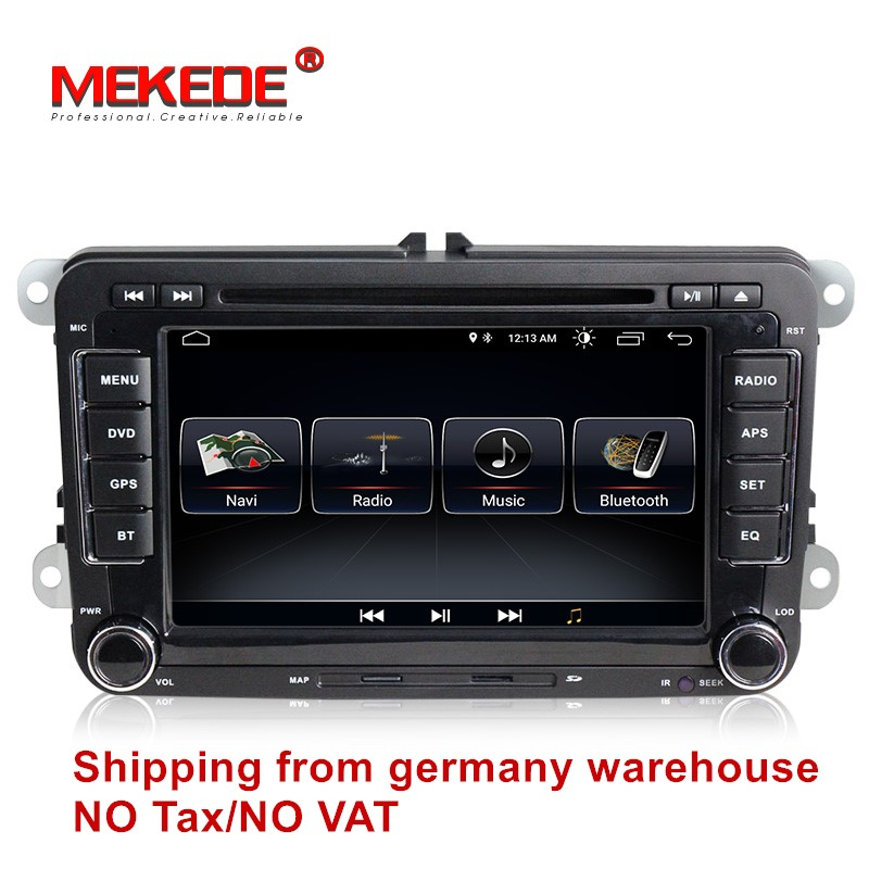Car multimedia Android 8.0 Autoradio 2 Din Car Radio player For VW/Golf/6/Golf/5/Passat/b7/cc/b6/SEAT/leon/Tiguan/Skoda/Octavia isudar car multimedia player 2 din car dvd for vw volkswagen golf polo tiguan passat b7 b6 seat leon skoda octavia radio gps dab