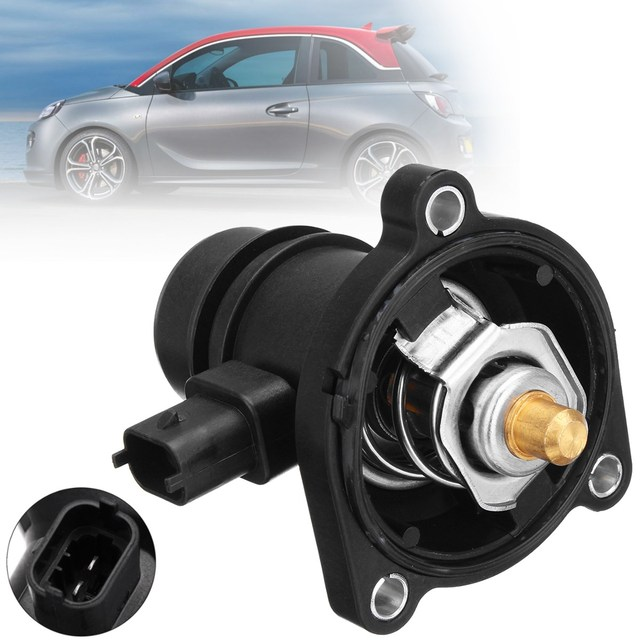 #55593033 engine coolant thermostat with seal for vauxhall adam astra j gtc  corsa e d corsavan