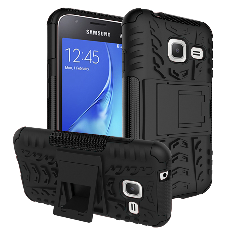 BYHeYang Luxury Armor Hybrid TPU Silicone +Hard Protective Case For <font><b>Samsung</b></font> <font><b>Galaxy</b></font> <font><b>J1</b></font> <font><b>Mini</b></font> J105 J105F <font><b>SM</b></font>-<font><b>J105H</b></font> Duos Back Cover image
