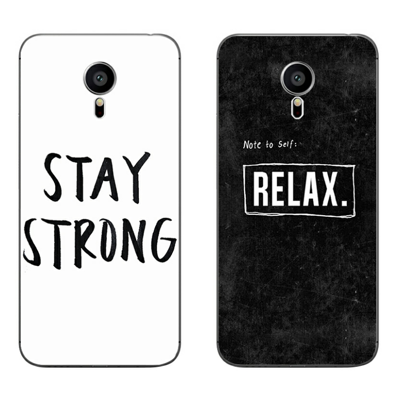 For Meizu MX4 MX5 MX6 Pro 5 6 Phone Case M1 M2 M3 Note MEILAN E Mini Shell Transparent C ...