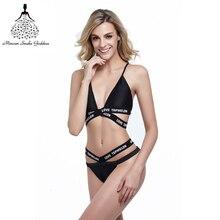 brazilian bikini  Women Thong Bikinis set swimwear female bathing suit women departure beach wear Bikini Thong bathing suit