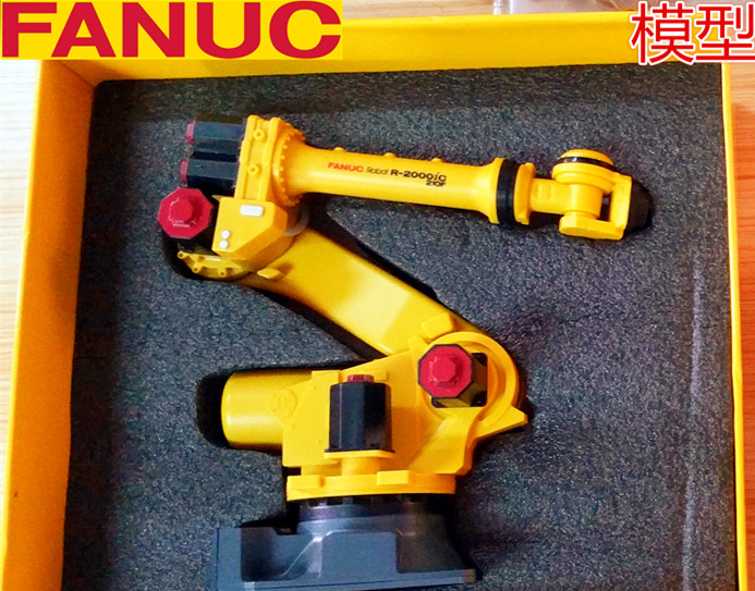Exquisite Robot 3D Model 1:10 Scale FANUC R 2000iC 210F Manipulator Arm Model Vertical Multiple Joint for Collection,Decoration