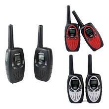 2pcs Walkie Talkie Kids Radio RETEVIS RT628 0.5W UHF 446MHz EU Frequency Portable Hf Transceiver Ham Radio Children gift A1026B