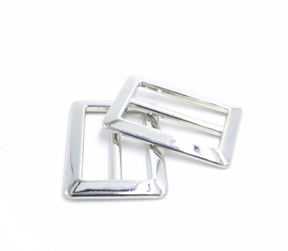 10pcs 40mm hebillas de plata Accesorios de prendas de vestir bolsos - Artes, artesanía y costura