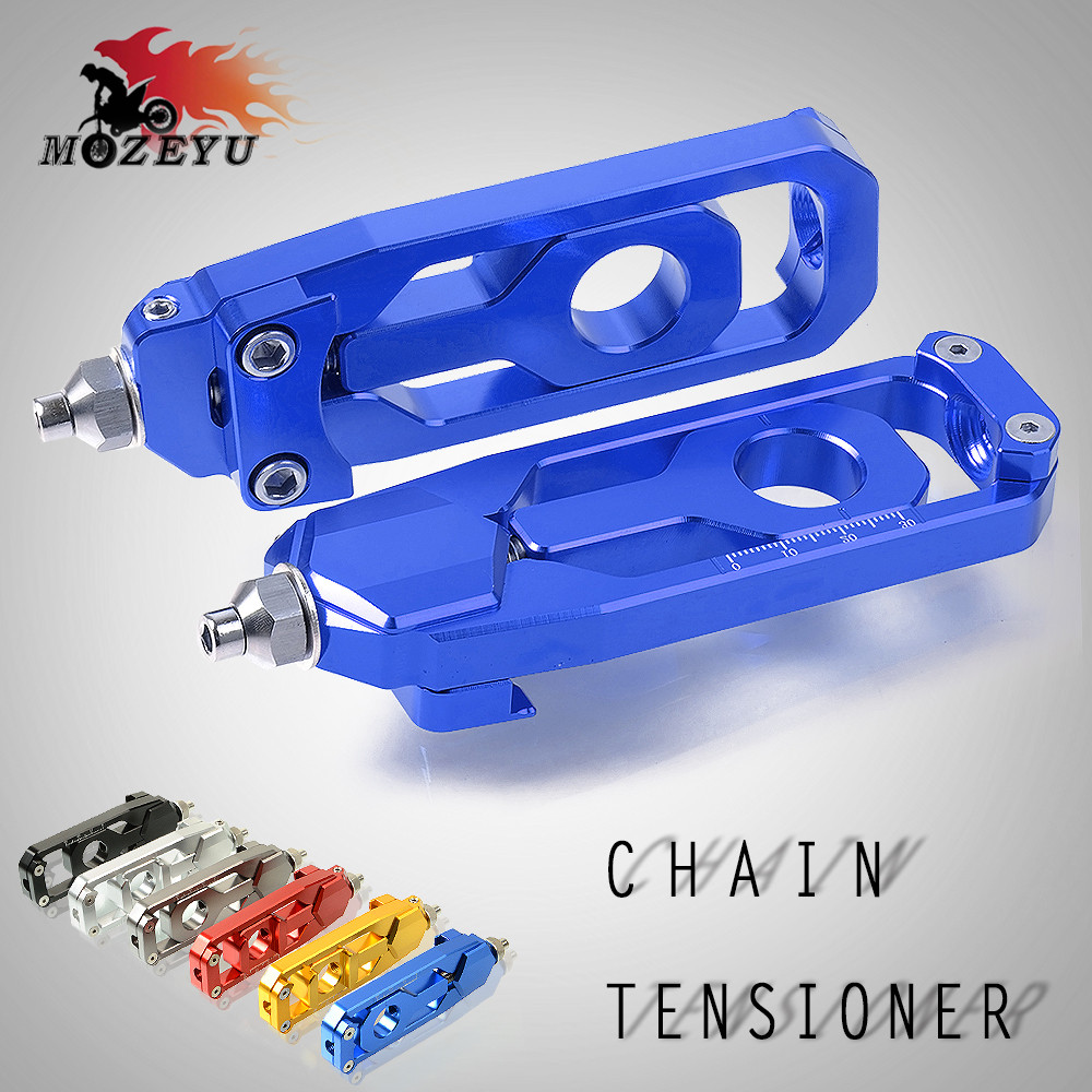 for yamaha mt-09 mt09 MT-09 MT09 Tracer fz09 fz-09 FZ09 FZ-09 fj09 fj-09 Motorcycle Parts CNC Chain Adjusters Tensioners Catena