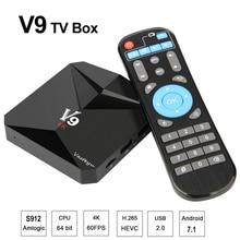 Android 7 1 Smart TV Box 3GB DDR3 32GB Amlogic S912 Octa Core 2 4G 5