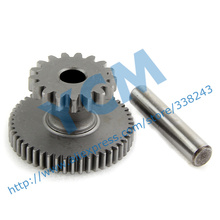 Double Gear GY6 125 150cc Startup Disk Tooth 152QMI 157QMJ Spare Parts YCM Drop Shipping