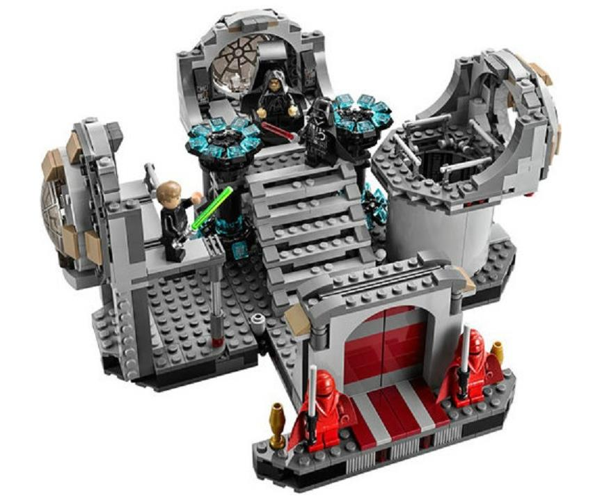 Space Wars the Death Star Final Duel Building Blocks Model Educational Bricks Toys gift For Children Compatible with Lepin 75093 new lepin 16009 1151pcs queen anne s revenge pirates of the caribbean building blocks set compatible legoed with 4195 children