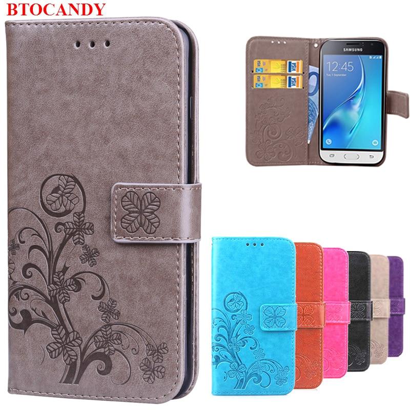 Luxury Flower Printing Leather Wallet Flip Case Cover For Samsung Galaxy j1 2016 sm-j120f j120 j120f j100 J1 Mini j105 sm-j105h apple iphone white colour