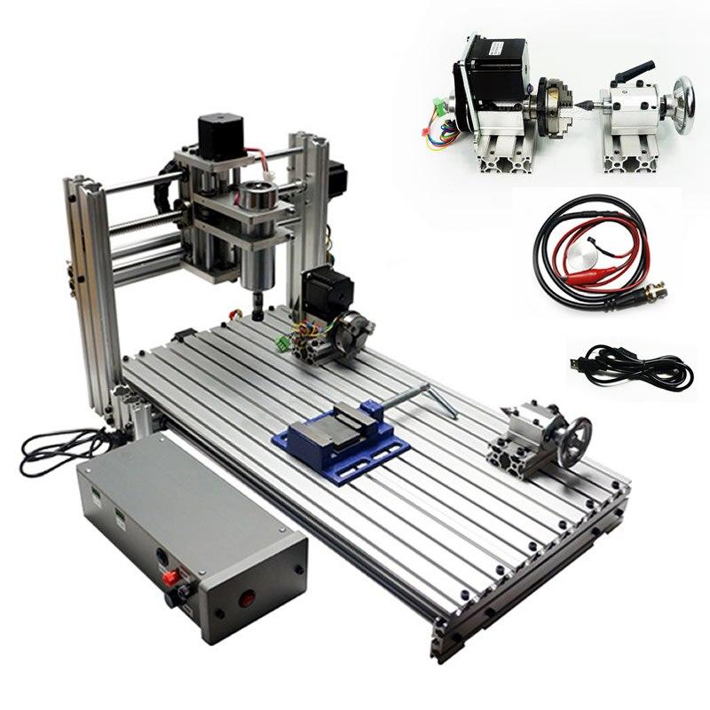 USB port DIY mini cnc machine de gravure 3060 6030 avec ER11 collet cnc routeur