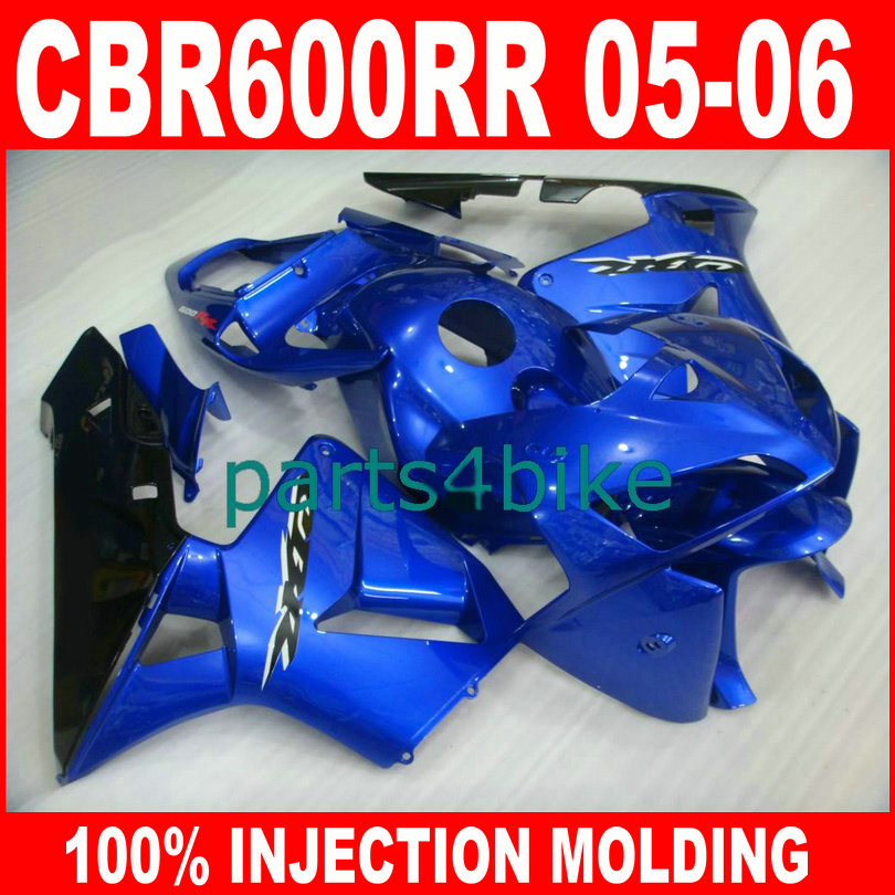 ABS Injection Molding body parts for HONDA CBR600RR 2005 2006 CBR 600 RR 05 06 fairings kit dark blue aftermarket fairing kits