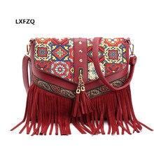 Quaste schulter taschen 4 farben frauen messenger bags mini bolsa feminina sac ein haupt Kupplung