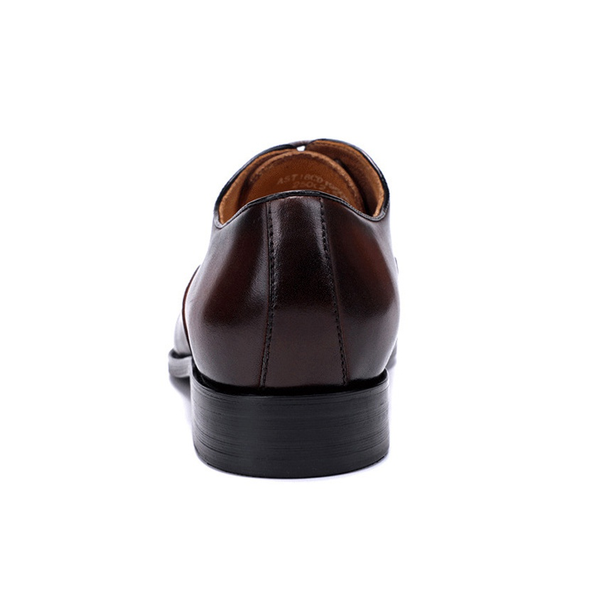 Trimestre marrom 46 37 Handmade Sapatos Asas Vestido Preto Genuíno Do Nas Couro Asd82 Moda Homem Pé Tamanho Oxfords Pontas Formal Redondo Casamento Das Dos Dedo Sotaque Homens 1Fxwdv