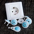 6 PC children security Anti electric shock Socket protective cover baby Anti electric Plug Protective cover  TRQ0296