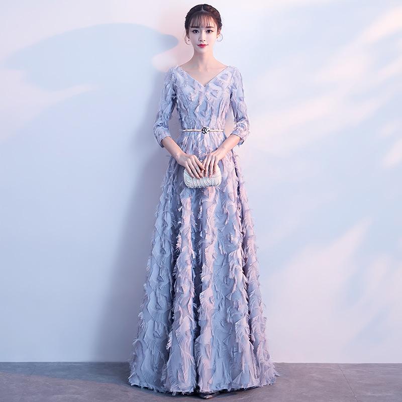 Robes de soirée jeune femme Vestido de festa robes de bal 2018 longueur de thé robe de soirée formelle beauté robe emily pour l'obtention du diplôme