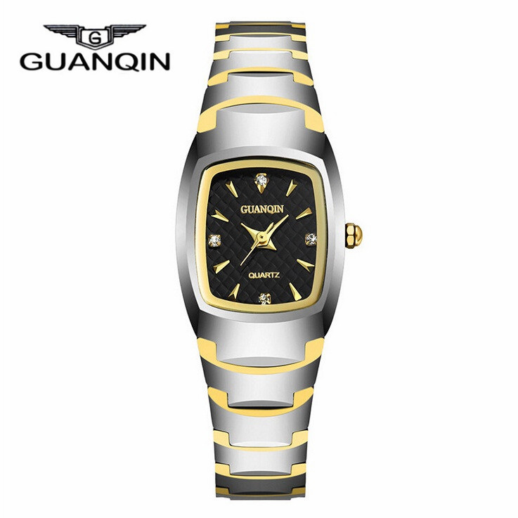 GUANQIN Luxury Waterproof Women Bracelet Watches Lady Fashion Dress Quartz Watch Clock Woman Relogio Feminino Reloj