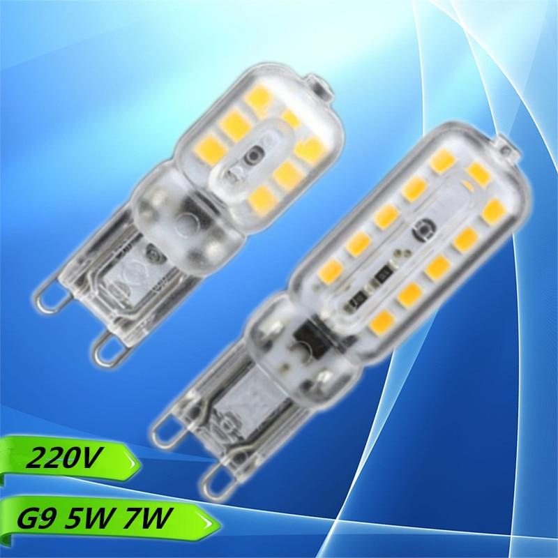Профессиональный Оптовая продажа G9 AC 220 В-240 В Светодиодный лампочки SMD 2835 G9 альтернативных свет 30/40 вт галогенной лампы теплый белый