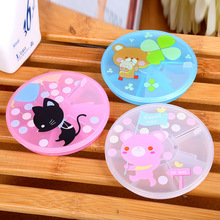 YYW Cute Jewelry Box 7cells Pill Box Plastic Tool Box Case Jewelry Rings Craft Organizer Storage Beads Containers