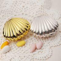 10 pcs/Lot coquille mariage faveur boîte cadeau sacs mariage bonbons boîte Casamento mariage faveurs et cadeaux décoration de mariage
