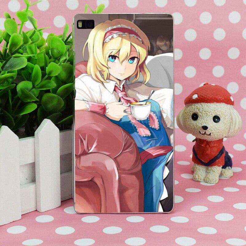 B0204 Книги по искусству девушка гостиная диван Чай кружка прозрачный Жесткий Тонкий чехол кожного покрова для Huawei P 6 7 8 9 lite плюс Honor 6 7 4c 4x G7