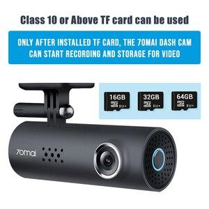 Image 5 - Original 70mai Dash Cam 1S Englisch Vision Nacht Vison Auto DVR 1080HD Auto Kamera voice control 130FOV G  sensor Dashboard