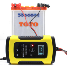 12V 5A Pulse Repair Charger with LCD Display Motorcycle Car Automatic Intelligent Battery Charger EFB AGM GEL Pulse Repair Battery Charger with LCD Di