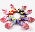 2017 Summer New Cartoon Girls sandals Cute Girls shoes Kids Baby Sandals for girls PVC jelly Shoes 14-16.5cm