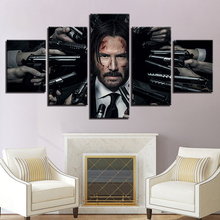Movie John Wick Wallpaper Canvas Posters Prints Wall Art Painting Decorative Picture Bedroom Modern Home Decoration Accessories