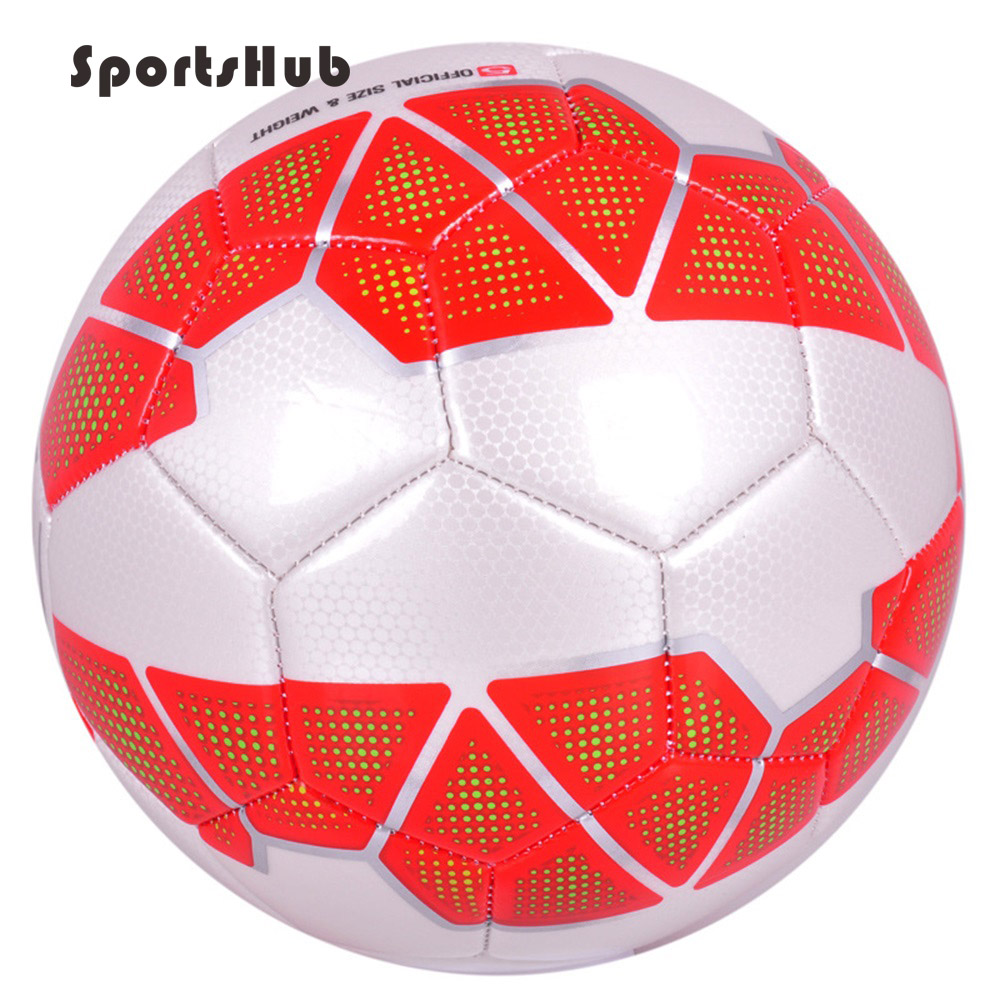 SPORTSHUB PU Soccer Balls Official Size 5 Football Goal League Ball Outdoor Sport Training Balls futbol voetbal bola BGS0004 ...