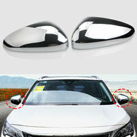 Car accessories For Peugeot 3008 5008 2017 2019 Chrome ABS Side Door Mirror Covers Cap Trim outside view mirrors mooulding