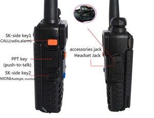 Image 3 - Radio portatile Set Attrezzature di Polizia Walkie Talkie 10km Baofeng uv 5r Per Pmr Stazione Radio di prosciutto hf Ricetrasmettitore Radio Communicator