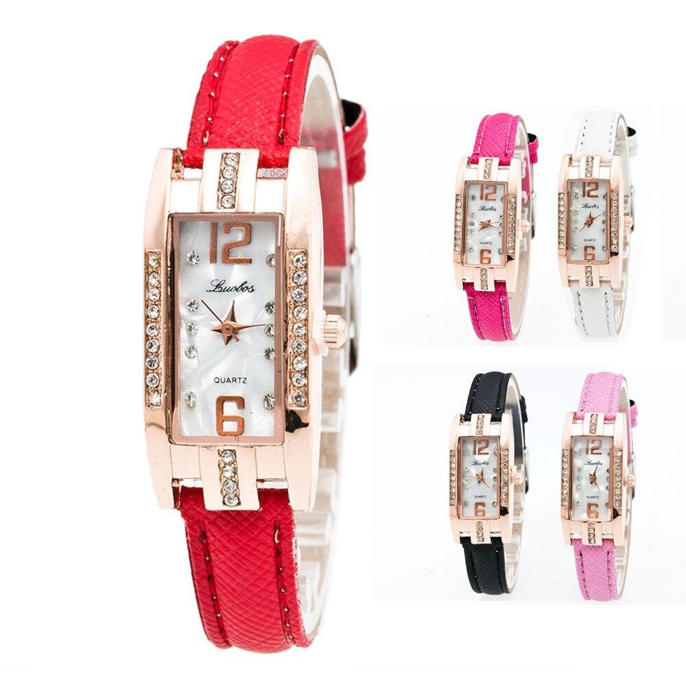 Часы женщи женские Модные указатель кварцевые наручные кварцевые часы, циферблат наручные часы Relojes Mujer Для женщин часы D12