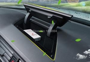 Image 1 - ل 2018 2019 2020 VW tiguan mk2 الجبهة المركزية وحدة التحكم لوحة القيادة صندوق تخزين حامل 5NG857922A