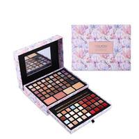 Leanever Professional Makeup Cosmetic Set Fashion Box Eyeshadow Lipstick Concealer Blush Mirror Kits Makeup Sets Gift