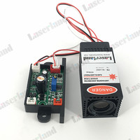 Industrial Fat Beam Focusable 200mW 650nm Red Dot Laser Diode Module TTL