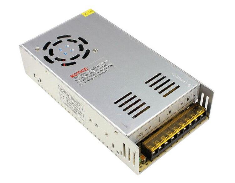 купить Metal case type DC 48 Volt 8.3 Amp 400 watt transformer AC/DC 48V 8.3a 400w Switching Power Supply industrial transformer по цене 4351.16 рублей